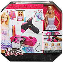 Buy Barbie Airbrush Designer Set Online at johnlewis.com