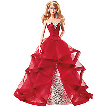 Buy Barbie Collector 2015 Holiday Doll Online at johnlewis.com