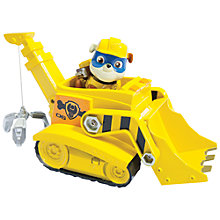 Buy Paw Patrol Super Pup Rubble's Crane Online at johnlewis.com
