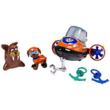 Buy Paw Patrol Zuma Bath Adventure Play Set Online at johnlewis.com