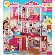 Buy Barbie Dreamhouse Set Online at johnlewis.com