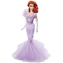 Buy Barbie Collector Fashion Model Doll, Lavender Luxe Online at johnlewis.com