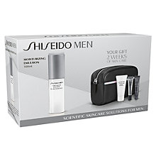 Buy Shiseido Men's Moisturising Emulsion Set Online at johnlewis.com