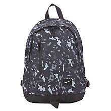 Buy Nike All Access Halfday Backpack, Grey Online at johnlewis.com