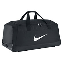 Buy Nike Club Team Roller Bag, Black Online at johnlewis.com
