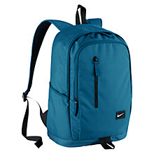 Buy Nike All Access Soleday Backpack, Blue Online at johnlewis.com