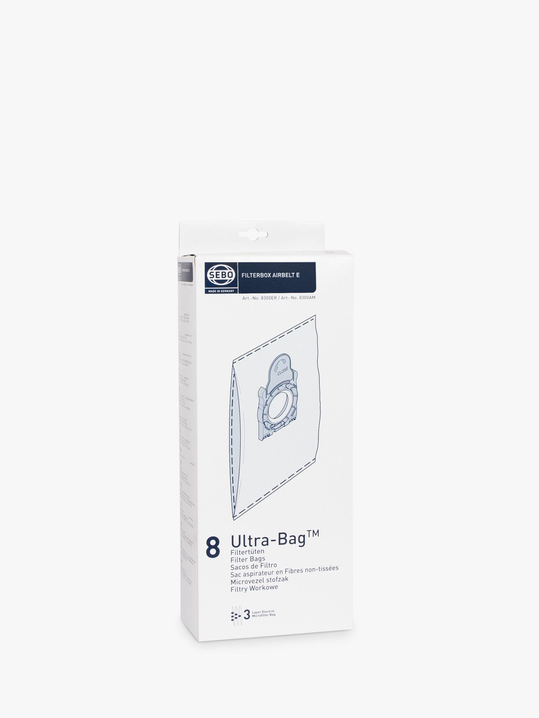 Sebo Sebo 8300ER Filterbox Airbelt E Ultra Bags