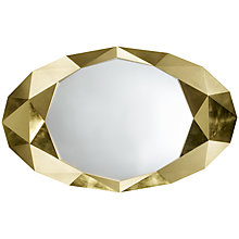 Buy John Lewis Precious Wall Mirror, 152 x 93cm,  Gold Online at johnlewis.com