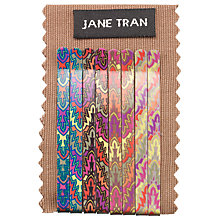 Buy Jane Tran Leaf Hair Slides, Pack of 8, Neon Online at johnlewis.com