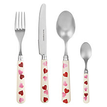 Buy Emma Bridgewater Pink Hearts Cutlery Online at johnlewis.com