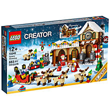Buy LEGO Creator Santa's Workshop Online at johnlewis.com