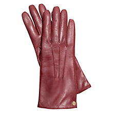 Buy Coach Iconic Leather Gloves Online at johnlewis.com
