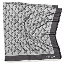 Buy Coach Horse & Carriage Oversized Square Scarf Online at johnlewis.com