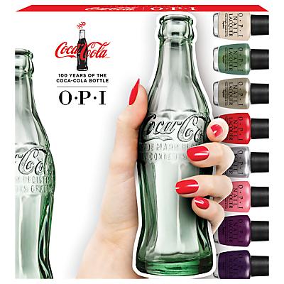 shop for OPI Coca Cola Mini Nail Lacquer Collection, 10 x 3.75ml at Shopo