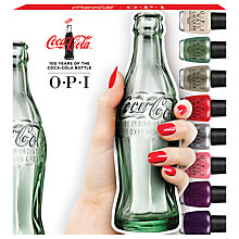 Buy OPI Coca Cola Mini Nail Lacquer Collection, 10 x 3.75ml Online at johnlewis.com