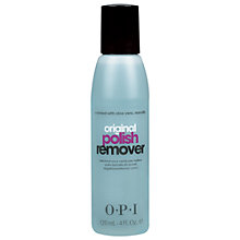 Buy OPI Original Polish Remover Enriched With Aloe Vera, 120ml Online at johnlewis.com