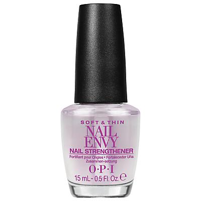 shop for OPI Soft & Thin Nail Envy Nail Strengthener, 15ml at Shopo
