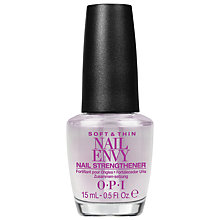 Buy OPI Soft & Thin Nail Envy Nail Strengthener, 15ml Online at johnlewis.com