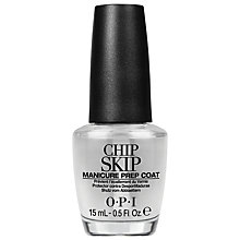 Buy OPI Chip Skip Manicure Prep Coat, 15ml Online at johnlewis.com