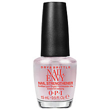 Buy OPI Dry & Brittle Nail Envy Nail Strengthener, 15ml Online at johnlewis.com