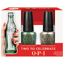 Buy OPI Coca Cola Collection Nail Lacquer, 2 x 15ml Online at johnlewis.com