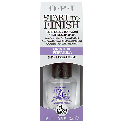 shop for OPI Start To Finish 3-in-1 Nail Treatment, 15ml at Shopo