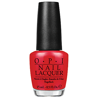 shop for OPI Coco Cola Red Nail Lacquer, 15ml at Shopo