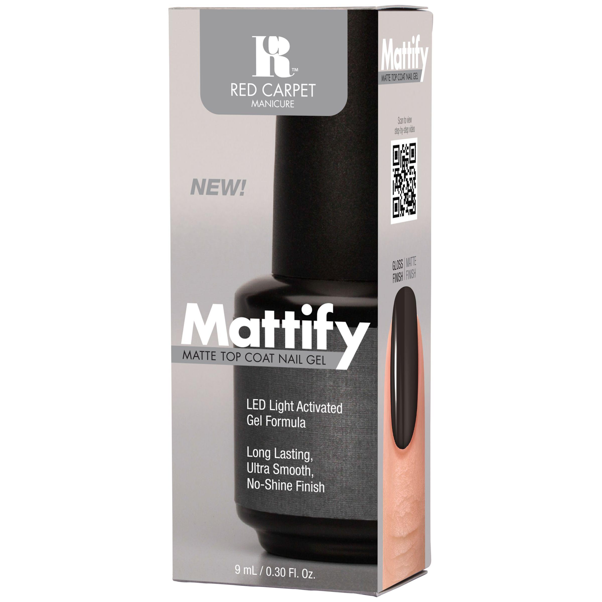 Red Carpet Manicure Red Carpet Manicure Mattify Top Coat, 9ml