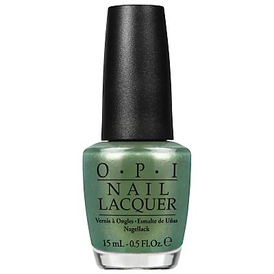 shop for OPI Coca Cola Visions Of Georgia Green Nail Lacquer, 15ml at Shopo