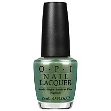 Buy OPI Coca Cola Visions Of Georgia Green Nail Lacquer, 15ml Online at johnlewis.com
