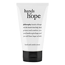 Buy Philosophy Hands of Hope Hand Cream, 120ml Online at johnlewis.com