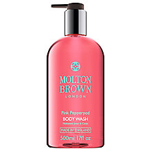 Buy Molton Brown Pink Pepperpod Body Wash, 500ml Online at johnlewis.com