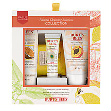 Buy Burt's Bees Natural Cleanser Collection Online at johnlewis.com