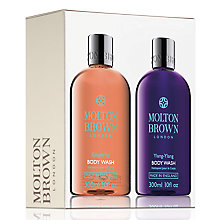 Buy Molton Brown Ylang-Ylang and Gingerlily Body Wash Duo Online at johnlewis.com