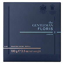 Buy Floris No.89 The Gentleman Shaving Soap Refill, 100g Online at johnlewis.com