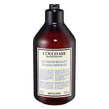 Buy L'Occitane Aromachologie Relaxing Bath & Shower Gel, 250ml Online at johnlewis.com