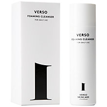 Buy Verso 1 Foaming Facial Cleanser, 90ml Online at johnlewis.com