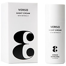 Buy Verso 3 Night Cream, 50ml Online at johnlewis.com