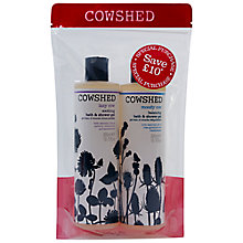 Buy Cowshed Moody & Lazy Cow Shower Gel Set, 2 x 300ml Online at johnlewis.com