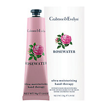 Buy Crabtree & Evelyn Rosewater Hand Therapy, 50g Online at johnlewis.com