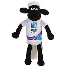 Buy Rugby World Cup 2015 Shaun The Sheep Mascot, 23cm, Assorted Colours Online at johnlewis.com