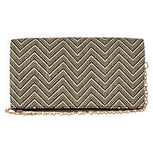 Buy Oasis Felicity Foldover Clutch Bag, Multi Online at johnlewis.com