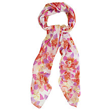 Buy Oasis Floral Print Scarf, Multi Online at johnlewis.com