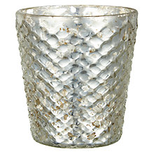 Buy Nordal Snowdrift Candle Votive, Small Online at johnlewis.com