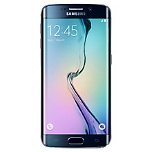 "Buy Samsung Galaxy S6 Edge Smartphone, Android, 5.1"", 4G LTE, SIM Free, 32GB Online at johnlewis.com"