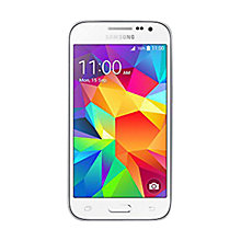 "Buy Samsung Galaxy Core Prime Smartphone, Android, 4.5"", 4G LTE, SIM Free, 8GB Online at johnlewis.com"