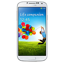 "Buy Samsung Galaxy S4 Smartphone, Android, 5"", 4G LTE, SIM Free, 16GB Online at johnlewis.com"