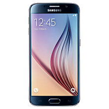 "Buy Samsung Galaxy S6 Smartphone, Android, 5.1"", 4G LTE, SIM Free, 64GB Online at johnlewis.com"