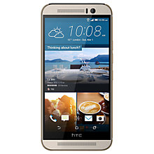 "Buy HTC One M9 Smartphone, Android, 5"", 4G LTE, SIM Free, 32GB Online at johnlewis.com"