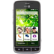 "Buy Doro Liberto 820 Mini Smartphone, Android, 4"", 3G, 4GB, SIM Free Online at johnlewis.com"